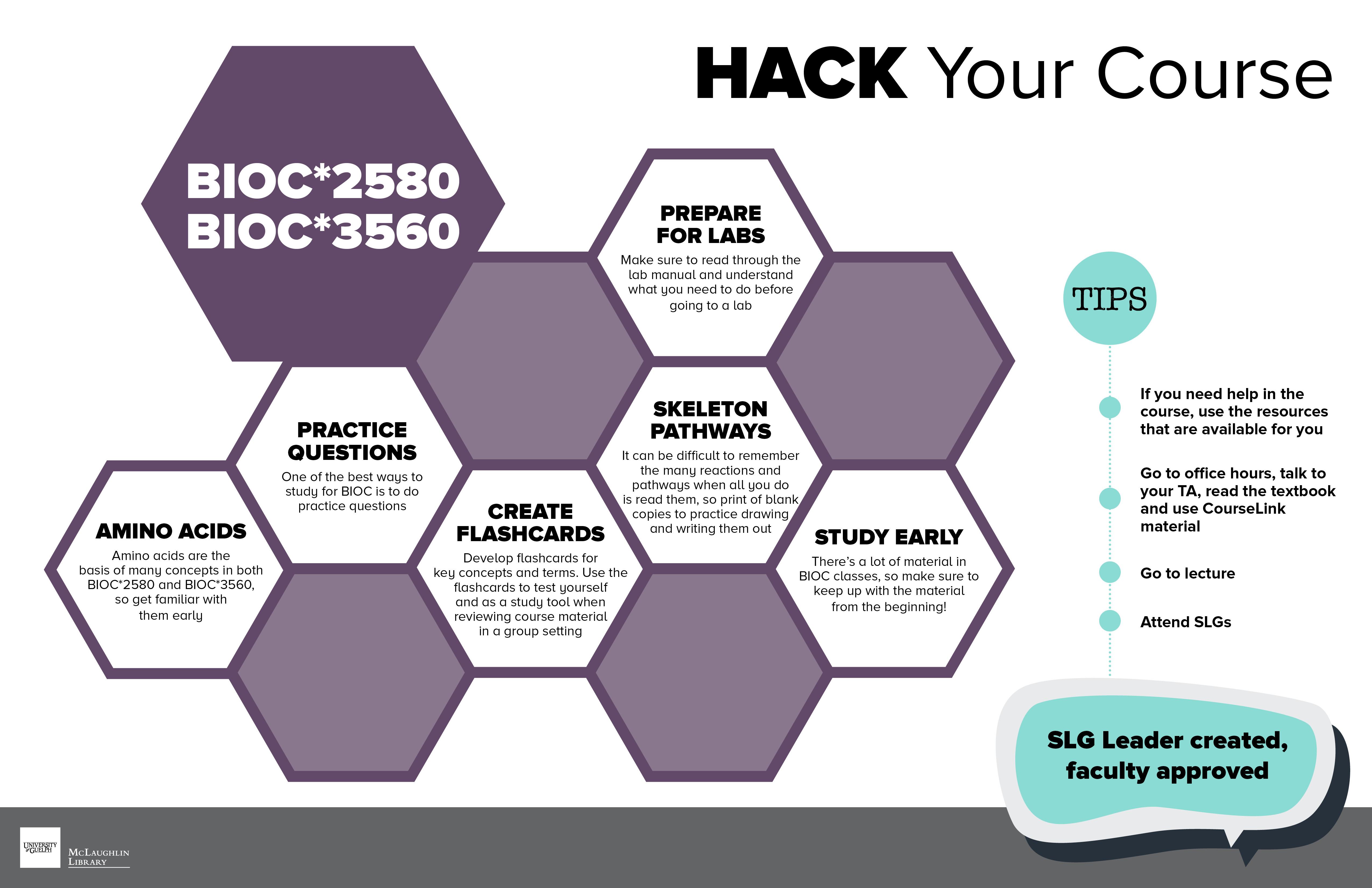 Hack Your Course: BIOC2580 + BIOC3560. Transcript available below.