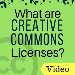 Video: What are Creative Commons Licenses?