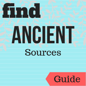 Guide: Find Ancient Sources