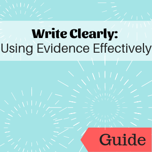 Guide: Using Evidence Effectively