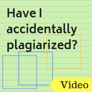 Video: Have I accidentally plagiarized? How to Use Turnitin to Check for Plagiarism