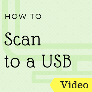 How do I Scan to USB?