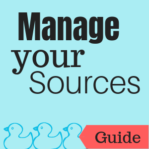 Guide: Manage Your Sources