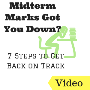 Midterm Marks Got You Down? 7 Steps to Get Back on Track