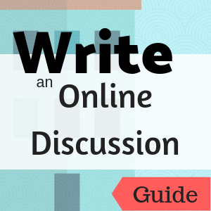 Guide: Write an Online Discussion