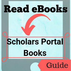 Guide: Read eBooks: Scholars Portal Books
