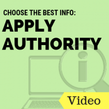 Choose the Best Info: Apply Authority