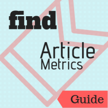 Guide: Find Article Metrics