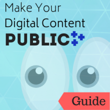 Link to guide: Make Your Digital Content Public