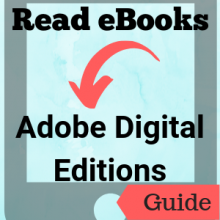 Guide: Read eBooks: Adobe Digital Editions