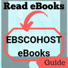 Guide: Read eBooks: EBSCOhost eBooks