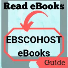 Guide: Read eBooks: EBSCOhost eBooks