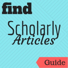 Guide: Find Scholarly Articles
