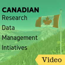 Video: Canadian Research Data Management Initiatives