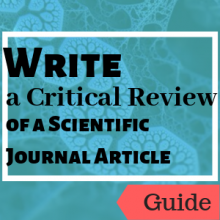 Guide: Write a Critical Review of a Scientific Journal Article