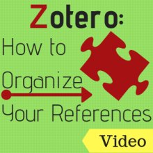 Video: Zotero How to Organize Your References